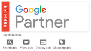 google premier partner badge for Pilot Digital
